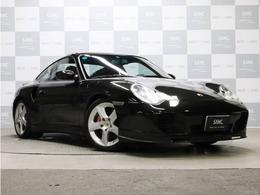 ポルシェ 911 ターボ 4WD 黒革 ケンウッド製ナビ フルセグTV 6速MT