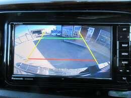 社外ストラーダSDナビ付♪ ガイド線付バックカメラで不安な駐車も安心ですね♪