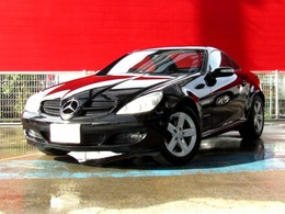 メルセデス・ベンツ SLKクラス SLK200コンプレッサー ディーラー車・黒革シート・純正ナビ・ETC