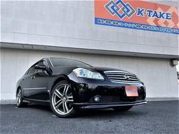 日産 フーガ 3.5 350GT スポーツパッケージ スタイリッシュブラックリミテッド サンルーフ 純正ナビ ハーフレザーシート