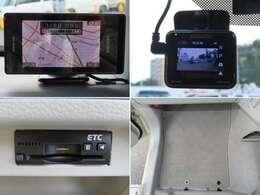 レーダー、ドライブレコーダー、ETC、フロアマットと充実装備満載!