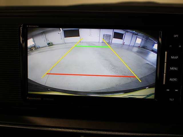 バック時の必需品バックモニターを装備!駐車時の車庫入れやバック時の後方確認をサポートいたします!