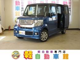 ホンダ N-BOX 660 カスタムG 4WD ABS アイドルストップ 禁煙車 スマキー