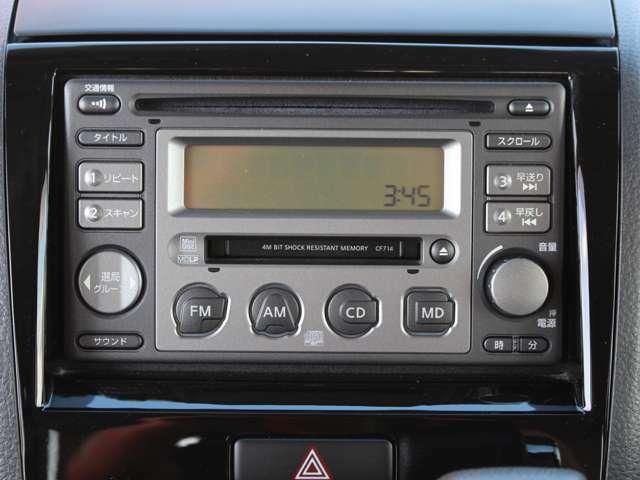 純正オーディオ搭載ですので好きな音源で楽しくドライブに通勤に使ってください★