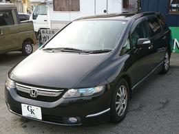 ホンダ オデッセイ 2.4 M 4WD 純正ナビ・バックカメラ・ローダウン