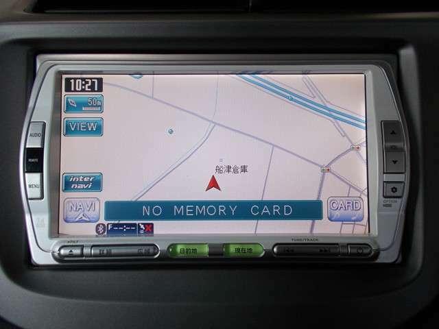 ギャザスメモリーナビ(VXS-092CVi)を装備しております~!ミュージックラック・デジタルワンセグTV、DVD/CDプレーヤー付きです♪