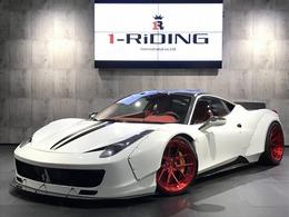 フェラーリ 458イタリア F1 DCT LB-WORKS Oakley Design ADV1ホイール