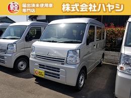 三菱 ミニキャブバン 660 M ハイルーフ 届出済未使用車 エアコンパワステ付き!