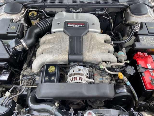 水平対向6気筒DOHC24バルブ!エンジン、ミッション等コンディション良好です!H30年4月、走行35741km時タイミングベルト交換済み!
