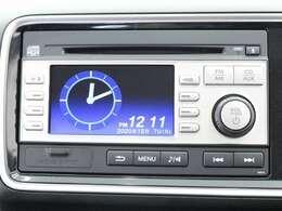 4.3インチ液晶カラーモニター・AV入力端子・時計機能付きの、AM&FMチューナー付きCD♪