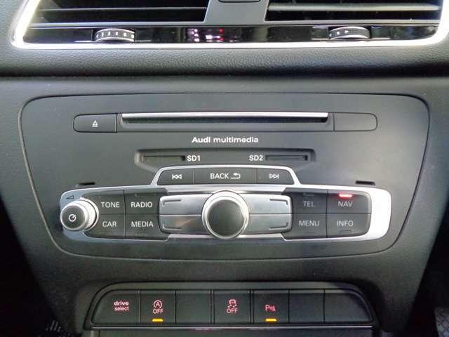 アウディMMI装着車で使い勝手も良いいです。