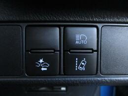 ■ 装備2 ■ 衝突被害軽減ブレーキ:障害物を感知してブレーキの補助を行ってくれる安心安全な装備です!/オートハイビーム:対向車を感知して自動でハイビーム、ロービームの切替を行ってくれます!