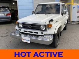 トヨタ ランドクルーザー70 4.2 LX ディーゼル 4WD サンルーフ付