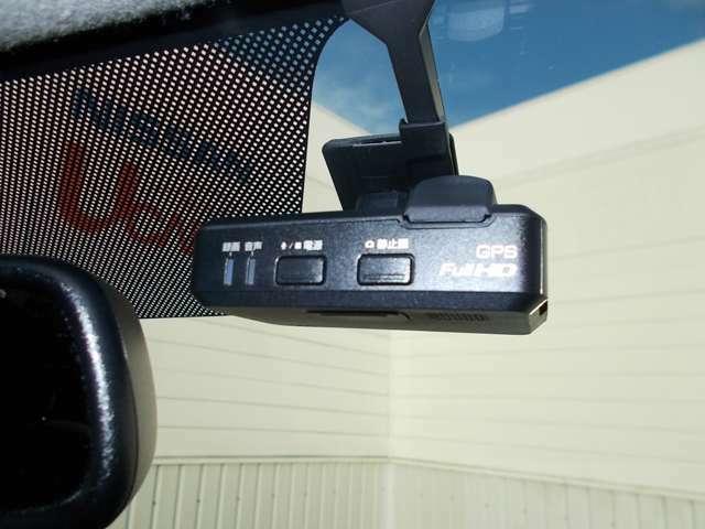 日産純正ドライブレコーダーが装備されてますので万が一の時に安心です。