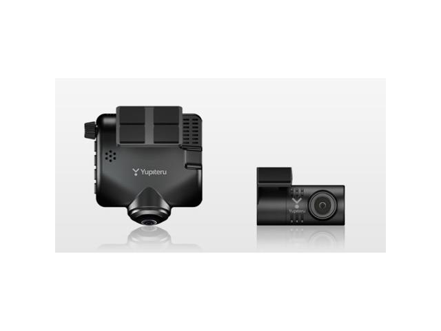 Bプラン画像:全周囲360°&リアカメラで、従来のドライブレコーダーでは、死角になる両サイドや車内の状況、さらに後方も記録できるから、もしもの時に頼りになる。32GB microSD付属