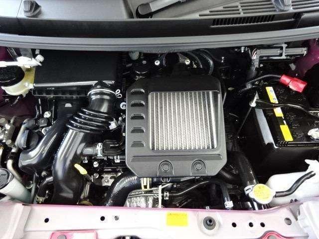 排気量は1000cc!アイドリングストップとの合わせ技で、より環境に配慮したエコロジー&エコノミーなエンジンです!