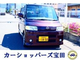 ダイハツ タント 660 カスタム RS TV付ナビ 禁煙車 バッテリー新品交換