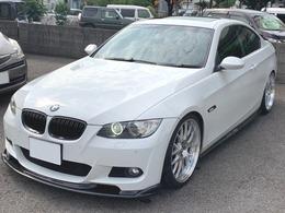 BMW 3シリーズクーペ 335i Mスポーツパッケージ ローダウン 社外ホイール  サンルーフ