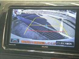 ナビゲーション連動!バックカメラ無料!バック時ナビゲーションに後方画像が映し出します