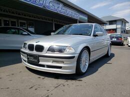 BMWアルピナ B3 3.3 リムジン スイッチトロニック 右ハンドル 黒革シート