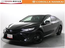 トヨタ カムリ 2.5 WS ブラック エディション 本革シート 8インチTCナビ ETC2