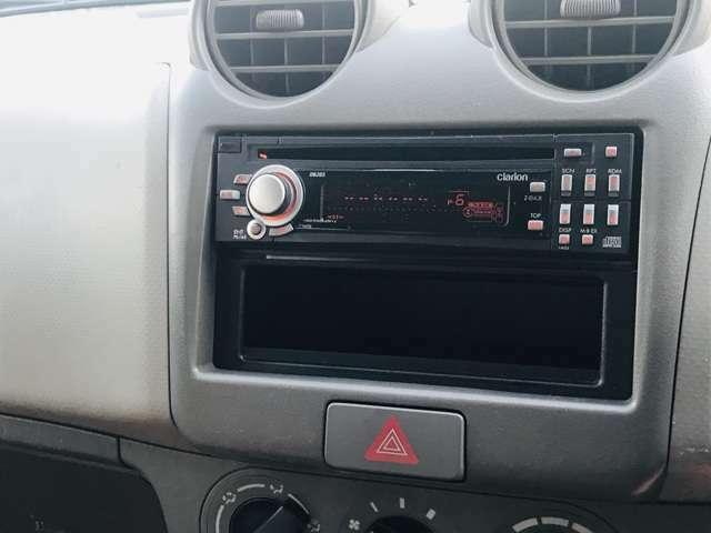 ナビはありません。CD、ラジオ問題なく聴けます!ナビのご要望がれば安いのを探して取り付けいたします!(別途商品代、工賃はお客様負担となります)