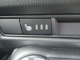 ■運転席・助手席にはシートヒーターが付いており冬場でも快適です。