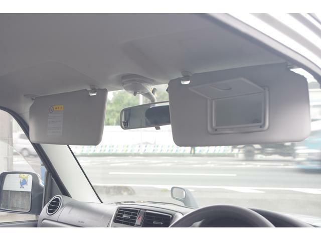 運転席にはミラー付きサンバイザーを装備☆