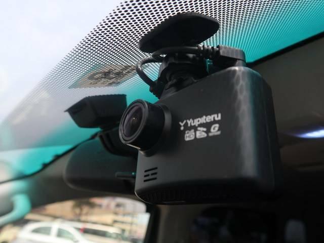 大人気のドライブレコーダー付き♪万が一の事故の際の記録はもちろんのこと、日常の運転を映像と音声で記録されます!