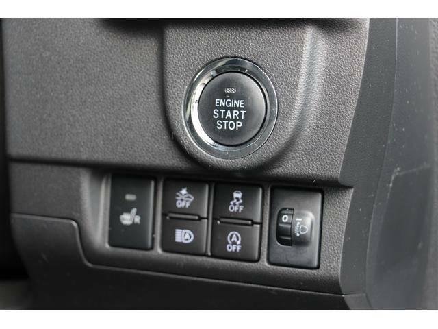 エンジンの始動はプッシュエンジンボタンから行います。