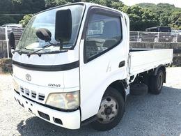 トヨタ ダイナ 2t積・10尺・平ボディ・5MT 車両総重量4745kg
