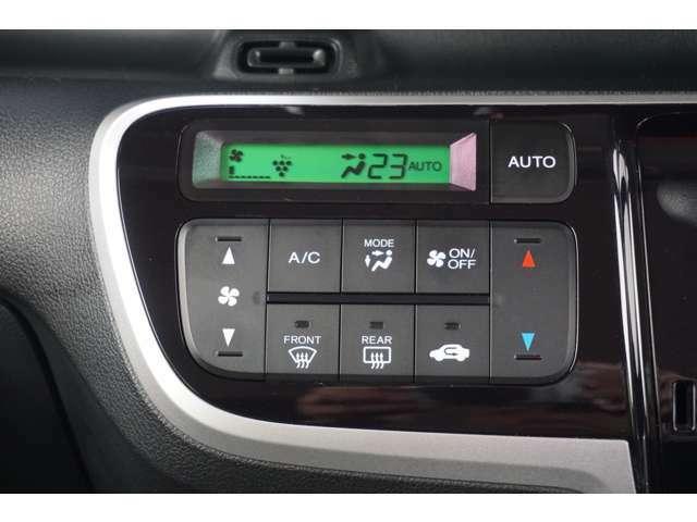 エアコンにはプラズマクラスターがついているので車内の空気も快適です。