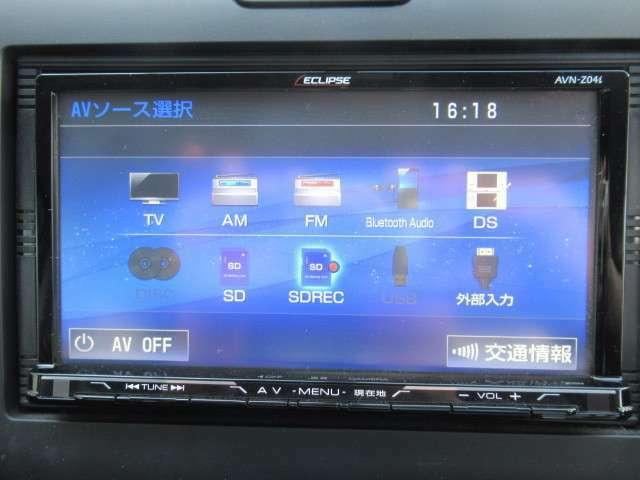 フルセグ&DVD&Bluetooth&ミュージックサーバー