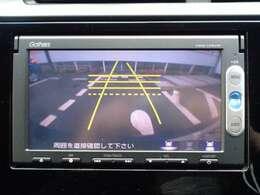 リアカメラ付きなので後方死角の心配が軽減されます。バック駐車が苦手な方も安心して駐車が可能です!