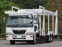UDトラックス コンドル 9.2t 増トンワイド 5台積キャリアカー 低床2デフ
