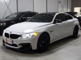 BMW M4クーペ M DCT ドライブロジック カーボンルーフ ブラック本革 右H D車