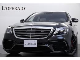 メルセデスAMG Sクラス S63 4マチック プラス ロング 4WD AMGダイナミックPKG 白/黒革 新車保証継承