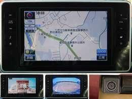 ☆純正フルセグチューナー内蔵8インチメモリーナビ&バックモニター☆ナビがあれば、初めて行く場所も安心ですね。