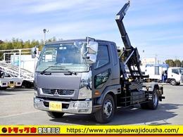 三菱ふそう ファイター 脱着式コンテナ専用車 増トン アームロール ベッド 7.8t 6MT