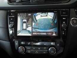 <オプション>インテリジェントアラウンドビューモニター(¥63.000-)/左右独立温度調節機能付オートエアコン/リアヒーターダクト