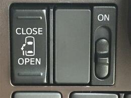 【片側電動スライドドア】ワンタッチでスライドドアの開閉が可能です!もちろんキーからの操作も可能♪