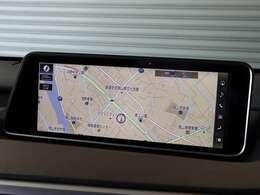 見やすい12.3インチワイド画面を搭載したナビゲーションシステム!地デジTVもフルセグでご覧いただけます♪