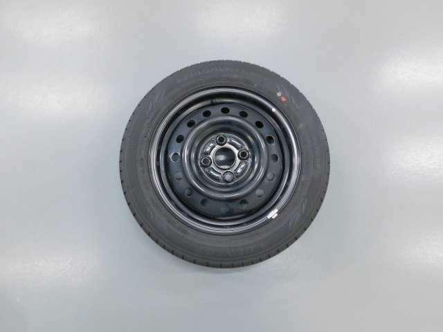 積込タイヤもスチールホイール装着になります◎
