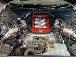 NISMO専用VR38型エンジン