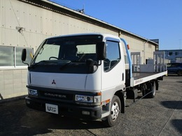 三菱ふそう キャンター 積載車 キャリアカー タダノ製 積載2t ディーラー使用車