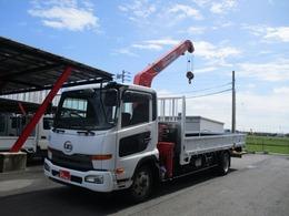 UDトラックス コンドル 2.5トン ユニック4段クレーン ラジコン