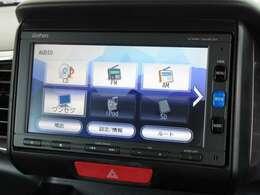 ナビゲーションはホンダ純正メモリーナビ(VXM-164CSi)が装着されております。AM、FM、CD、ワンセグTV、Bluetoothがご使用いただけます。初めて訪れた場所でも道に迷わず安心ですね!