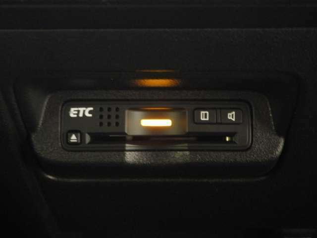 便利なETCも標準装備です。