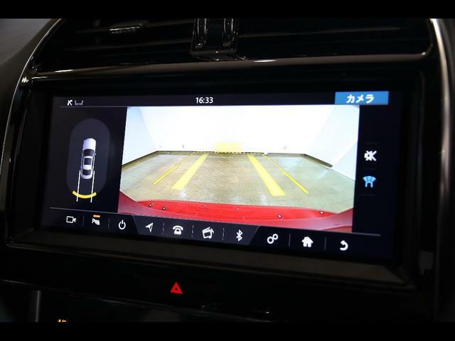 純正バックアイカメラ「ガイドライン付き」のカラーバックカメラを搭載。安心して駐車できますね!