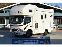 トヨタ カムロード キャンピングワークス オルビスイオ 発電機 家庭用エアコン 温水ボイラー ナビ